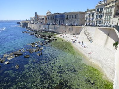 Photo for Appartamneto romantic in the heart of Ortigia with panoramic terrace!