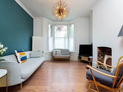 Photo for Beautiful 3BR with exquisite furnishings and lovely garden in Hackney, by Veeve