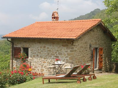 Photo for Pet-friendly cosy cottage+poolclose to Florence. Great views. Capannina. sleeps2