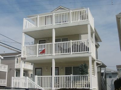 Photo for Amazing 2 Story Condo. One Block from Beach