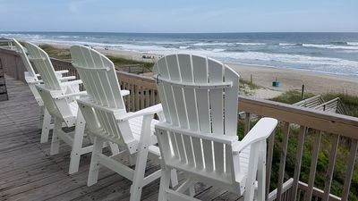 "Photo for Spectacular Views! OCEANFRONT Emerald Isle, NC - ""Sea Star"" offers 8 BR, 4 BA"