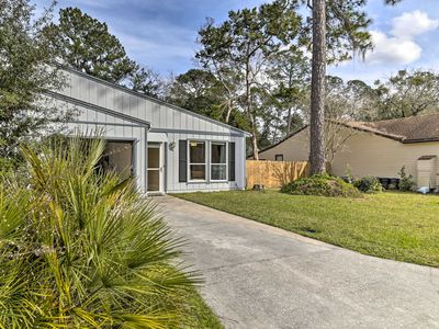 Photo for NEW! Gainesville Townhome w/ Patio on Golf Course!