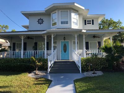 Photo for Walkable Downtown, Historic House, Private Pool, Bikes, 8 mi to Gulf Beaches!