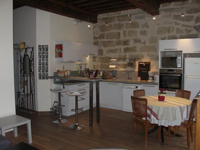 Photo for PEZENAS HISTORICAL CENTER Apart. Character: 2 bedrooms and living room-kitchen