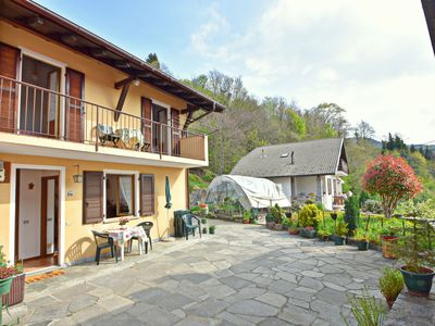 Photo for Holiday home in quaint, quiet village near the Lago Maggiore