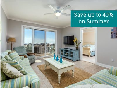 Photo for Bright, Beachy & Luxurious - Wi-Fi, Premium Cable & Ocean View!