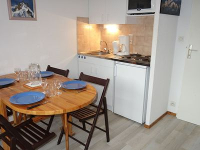 Photo for Apartment 340 m from the center of Les Contamines-Montjoie with Lift, Internet, Balcony (102635)
