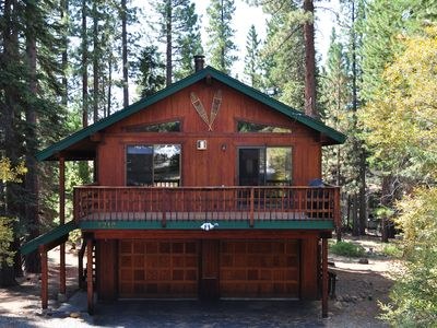 Photo for Beautiful North Lake Tahoe House! Hot tub, Wi-Fi, HDTV, Ski at nearby Northstar