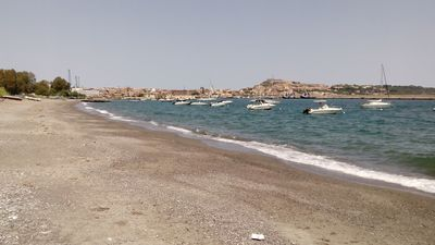 Photo for Beachfront apartment located near the port of Milazzo