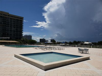 Photo for beautiful apartment across from the beach with easy access