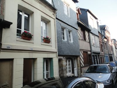 Photo for Fisherman's House Honfleur Center / Typical fisherman cottage