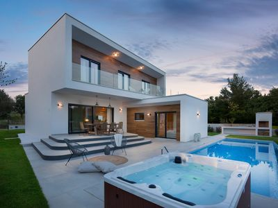 Photo for Modern Villa Santa Marina, in Istria, with a Pool