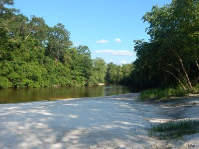 Private Beach on Red Creek