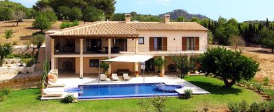 Photo for 5 bedroom Villa, sleeps 10 in s'Horta with Pool, Air Con and WiFi