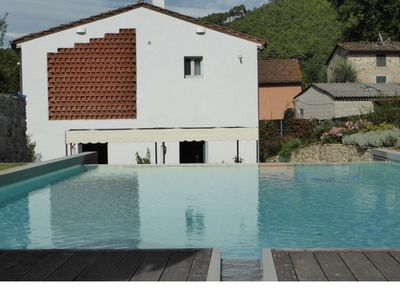 Photo for Villa with pool situated in the countryside near the medieval center of Lucca