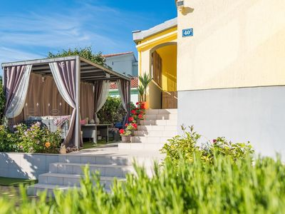 Photo for Lovely holiday home 800m from the beach, elegant desing, covered terrace, BBQ