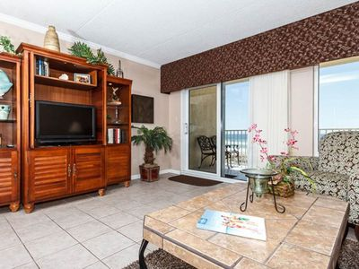 Photo for 2nd Floor Spacious, Beachfront Condo w/ Views, Close To Entertainment