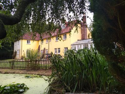 Photo for Peaceful 18th C Country House In The Heart Of A Nature Reserve, Near Chichester