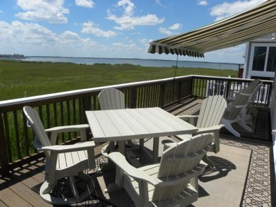Photo for Highly sought after Montego Bay Community, Canal Front w/ Boat Tie Up,  Community Pools and Tennis!