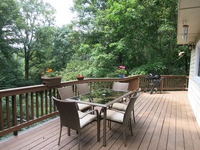 Photo for Asheville Mountain Retreat - mountain living 5 miles from downtown