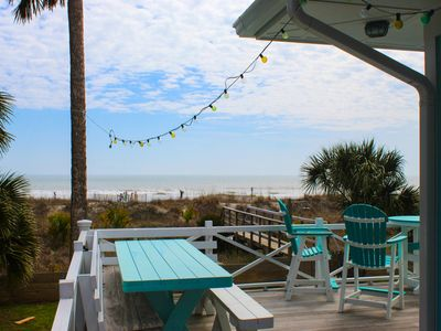 Photo for Jo-Ann Cottage ~ Spacious 6 BR w/ Private Boardwalk