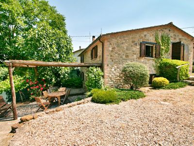 Photo for Casa Giove, charming small cottage, totally private pool for a couple or family.