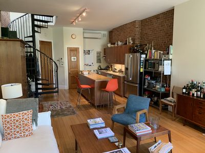 Photo for Spacious 2 BR Duplex on beautiful, tree lined brownstone street