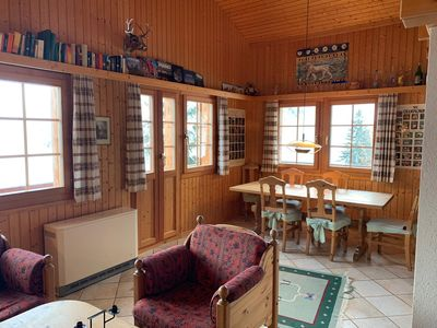 Photo for Chalet Narnia, Grimentz. Traditional cosy chalet with stunning views. Sleeps 6