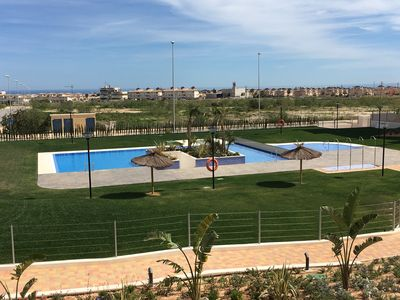 Photo for Spain - Beautiful 3 bedroom apartment with pool - NEW (02/2017)
