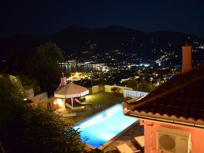 Photo for Villa Chrysalis - Panoramic view and private pool