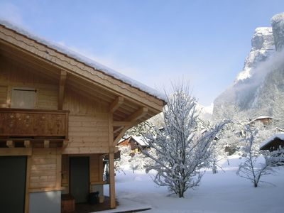 Photo for Recent chalet in Samoëns 3 stars for 6 people, sleeps 8