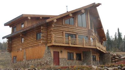 Photo for Beautiful, Bright and Spacious Deluxe Log Cabin Duplex