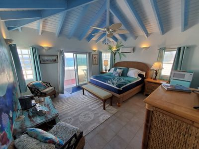 Photo for Dolphin King Luxury Room of Coral's Edge Bed & Breakfast, St Croix USVI