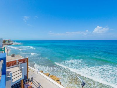 Photo for Downtown Luxury Oceanfront Apartment (S3) with pool walk to North Beach
