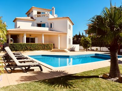 Photo for Large 4 Bedroom Villa with BBQ Terrace, WIFI, Air Con, and Private Pool