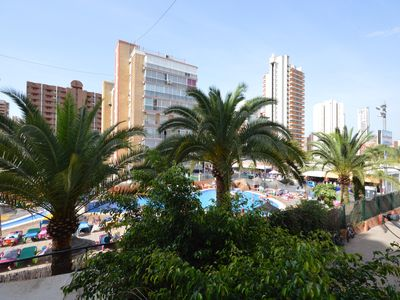 Photo for Benidorm Levante apartment 8 minute walk to the beach