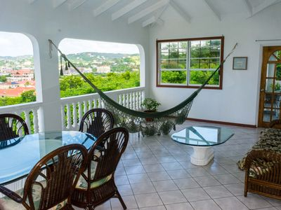Photo for Cleopatra Villas, 3-Bed Sea-View Apt, Rodney Bay