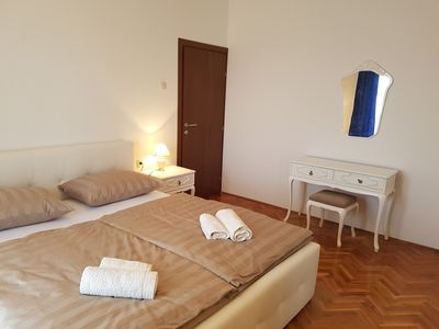 Photo for Apartment REA 4 + 2 **** With balcony and sea view, air conditioning