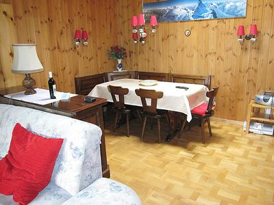 Photo for Apartment Azurit in Grächen - 6 persons, 3 bedrooms