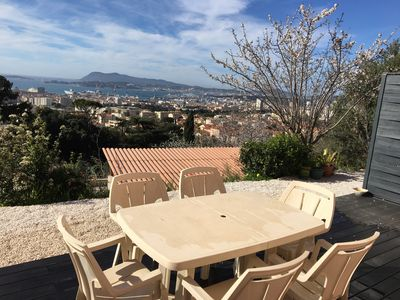 Photo for 2 ROOMS HOLIDAY RENTAL TOULON RESIDENTIAL AREA 10 minutes from the beaches.