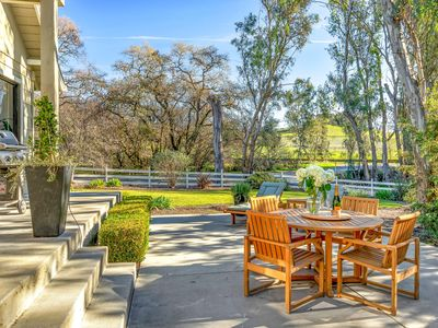 Photo for Sprawling 3BR Wine Country Estate w/ Remodeled Barn & Fire Pit