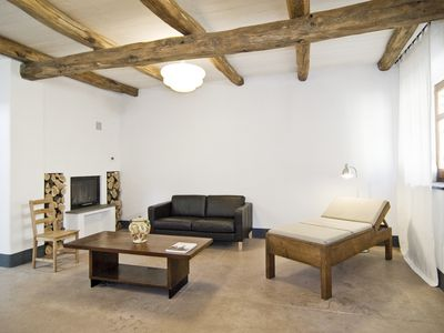 Photo for Renovated modern, comfortable, historic house, 15 km to the sea