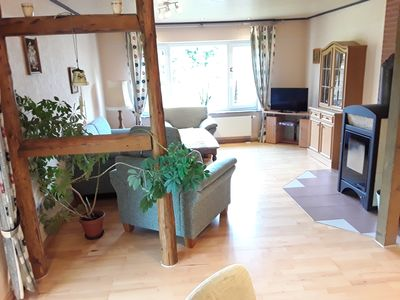 Photo for beautiful größzügige apartment located near the forest, children and pets welcome