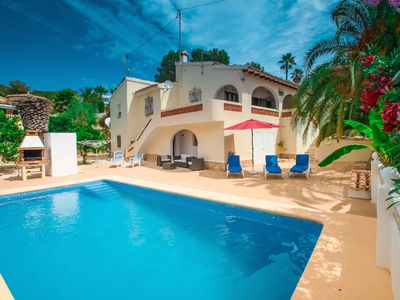 Photo for Miquel - pretty holiday property with garden and private pool in Moraira