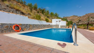Photo for Secluded villa surrounded by hills