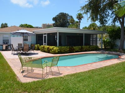 Photo for Beautiful Family Beach House with Heated Pool, Close to the Beach