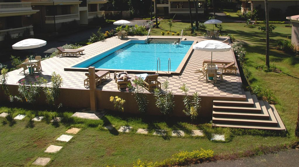 Regal Park Candolim 2 Bedroom Luxury Apartment With Shared