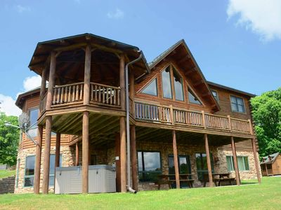 Photo for Chateau Royale- 5 bedroom lake access/golf area home in Waterfront Greens