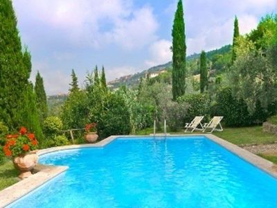 Photo for Five Bedroom Villa Cortona   Set in a beautiful and tranquil position close to the beautiful medieval