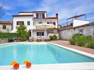 Photo for Villa with private pool in village Kujići for 12 persons